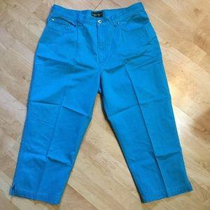 NICE 100% Cotton Ralph Lauren Cropped Jeans Sz. 12